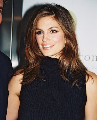 cindy crawford 1988 | perfect hair color contrast in front