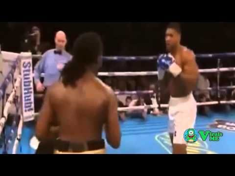 Anthony Joshua vs Charles Martin - Full Fight Joshua zerstört Martin in der zweite Runde. Full Fight Video