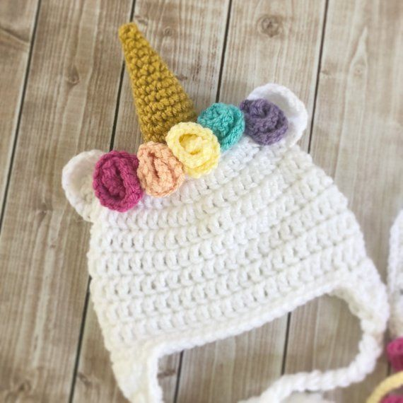Little Miss Unicorn Hat and Matching Diaper Cover/Unicorn Costume ...