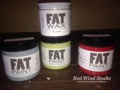 oh what a rush, painted furniture, A few days later I received some samples of paint and a jar of clear wax See I love red I am a red nut Wh...