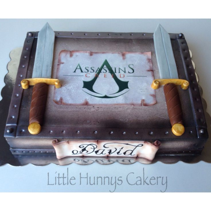Assassins creed cake. All edible.