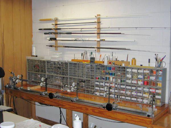 Rod bench rod building pinterest fishing equipment for Fishing rod building tools