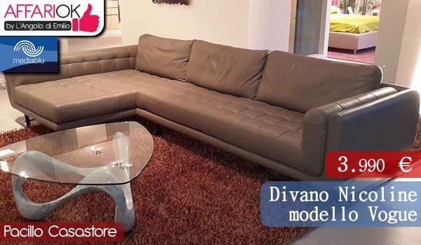 Divano Nicoline modello Vogue http://affariok.blogspot.it/2015/04/divano-nicoline-modello-vogue-da.html