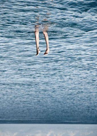 Diving upwards