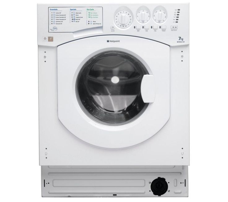 HOTPOINT BHWM1292 Integrated Washing Machine £275