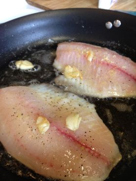 Garlic Lemon Tilapia is super easy and inexpensive! When you're sick of