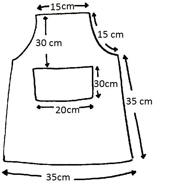 Patrones de delantales de cocina - Imagui | COSER Y CANTAR ...