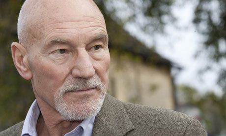 Patrick Stewart ~ another man with a wonderful voice ~ and a twinkle!