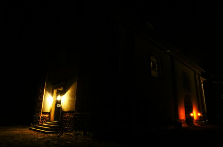 A night church in Zahrádka 3 (The Czech Republic)