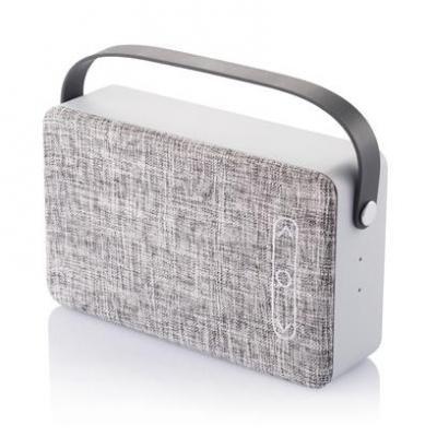 Image of Branded Fhab Bluetooth Speaker. Fabric wireless Speaker