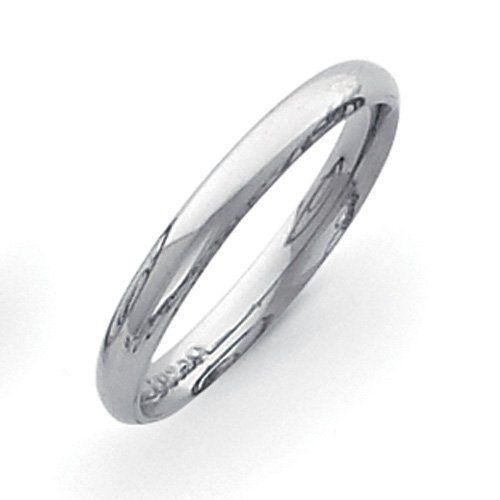 Palladium Medium Weight Comfort Fit 3.00mm Band Jewelrypot. $203.99. 30 Day Money Back Guarantee. 100% Satisfaction Guarantee. Questions? Call 866-923-4446. Fabulous Promotions and Discounts!. Your item will be shipped the same or next weekday!. All Genuine Diamonds, Gemstones, Materials, and Precious Metals. Save 46% Off!