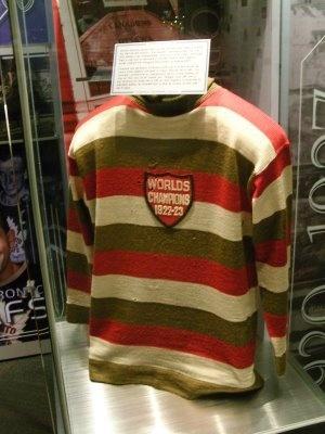 """Original Ottawa Senators' """"Champions"""" Jersey"""