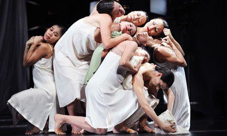 Ravishing ... Iphigenie auf Tauris by Tanztheater Wuppertal Pina Bausch.