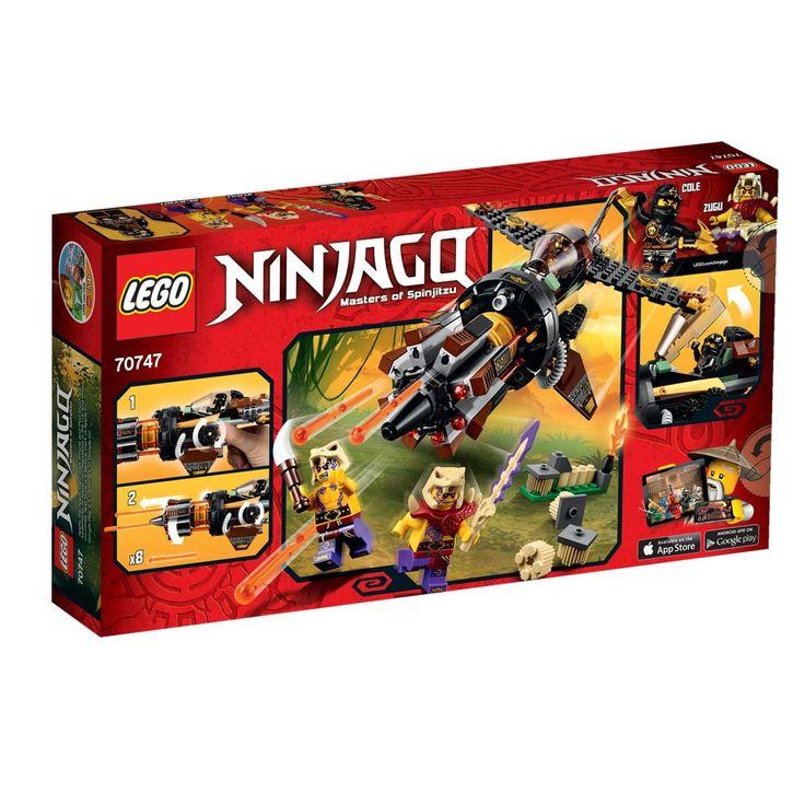 Le jet multi-missiles LEGO Ninjago - 70747