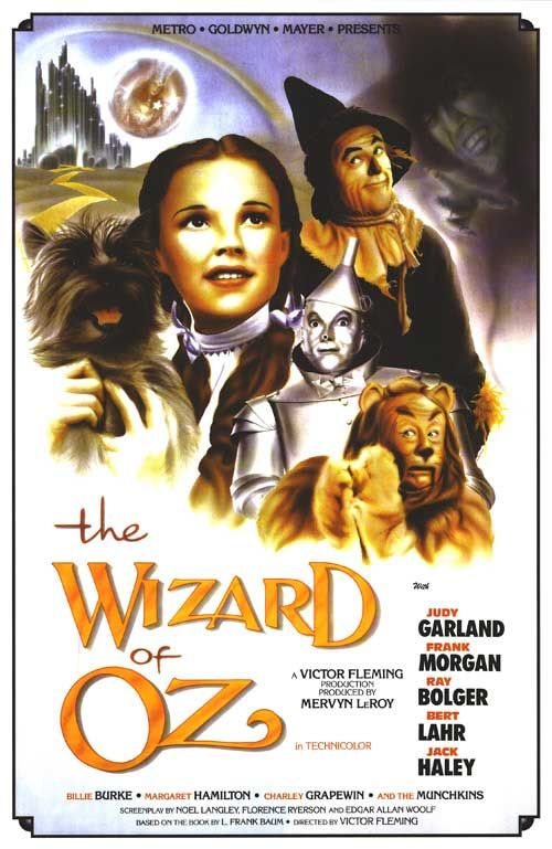 [ WIZARD OF OZ POSTER ]