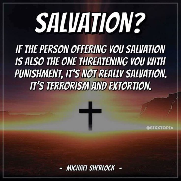 """Quote by Michael Sherlock.    Christians like to try and dissolve their guilt regarding the atrocity of Hell with the idea that """"God doesn't send people to Hell, People send themselves there by refusing salvation.""""  That kind of """"option"""" is not really an option.  It's entrapment and terrorism.  Many people can not ethically accept that.  It's not a choice... HMJ"""