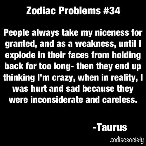 Taurus problems