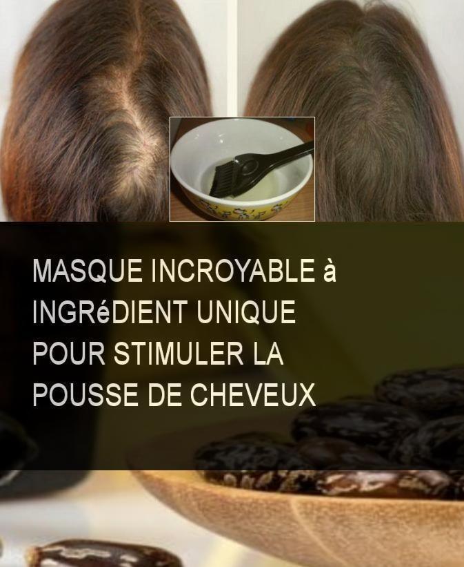 Masque Pour Faire Pousser Les Cheveux : masque, faire, pousser, cheveux, Masque, Incroyable, Ingrédient, Unique, Stimuler, Pousse, Cheveux, L'huile, Ricin, Connue, Comme, Cheveux,, Huile