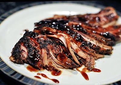 Crock Pot Recipe! Brown Sugar Balsamic glazed pork loin. I made this tonight! Super easy and super yummy!