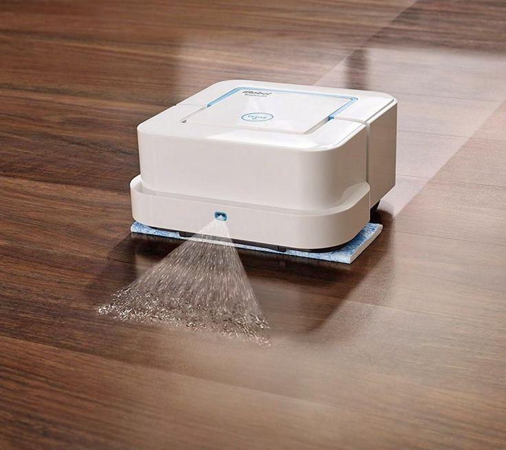 iRobot Braava Jet: A Roomba-Like Robot That Will Mop Your Hard Floors