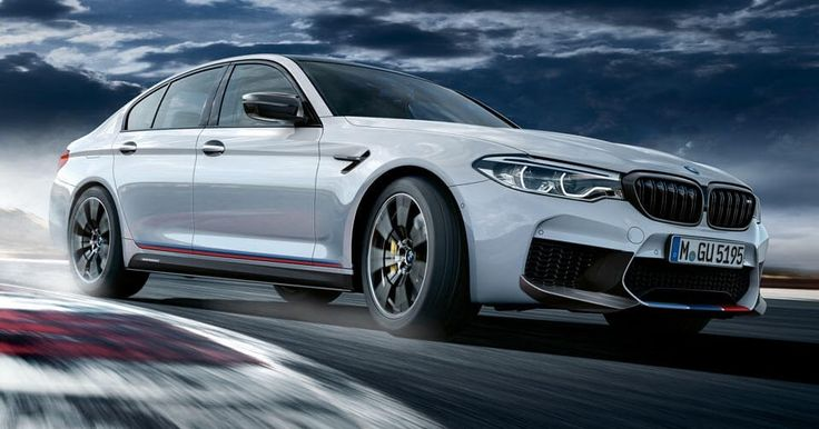 BMW M Performance Parts Make The New M5 Even More Impressive #BMW #BMW_M
