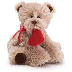 GUND Medium Dog Kisses - Valentines plush dog