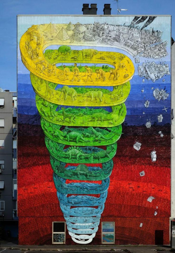 Blu Italy - Street art
