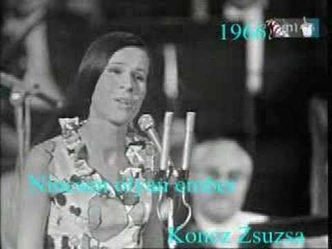 Koncz Zsuzsa - Nincsen olyan ember - YouTube