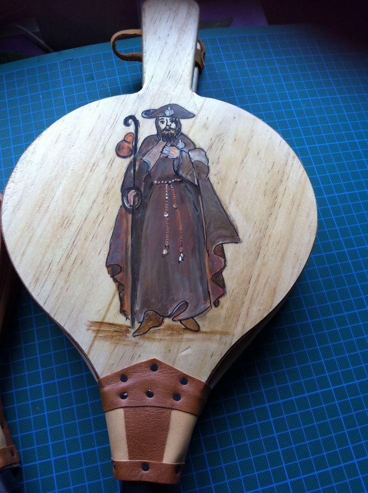 Trabajo de isabel lopez pintura sobre madera mis - Trabajos manuales en madera ...