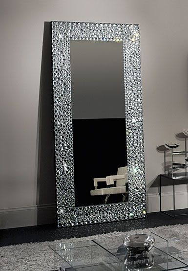 Waterford Crystal John Rocha Solas Floor Mirror ~ Stunning... and only $44,000!