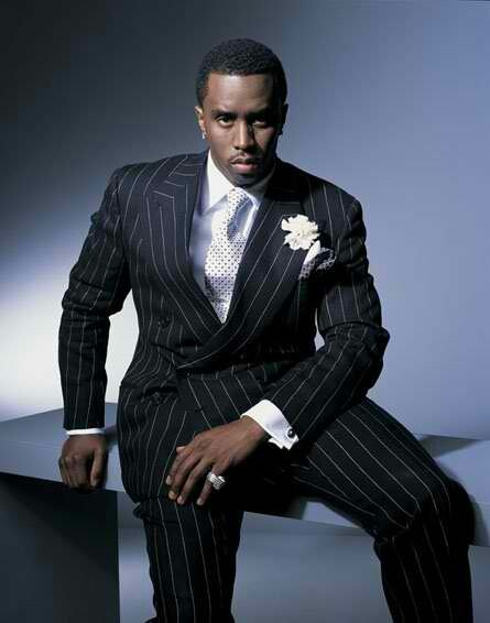 Sean Combs: Oh I love a man that can work a pin stripe suit..