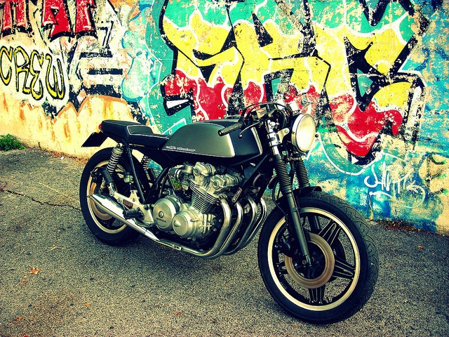 #bike #motorbike #caferacer #honda #custom #cafè #hondacb750f #moto  #customizer #fmw #fugarmetalworker