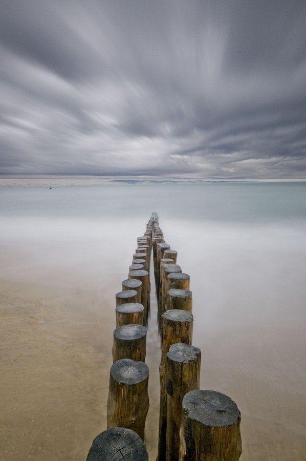 Cap Ferret by David Michel #photography #minimal #minimalism #seascape
