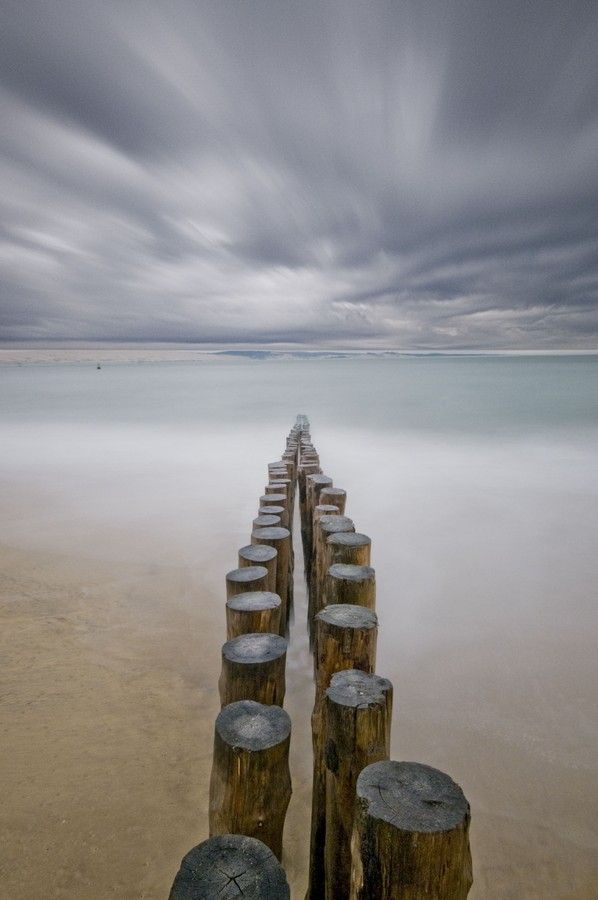 Leading Lines: Cap Ferret by David Michel