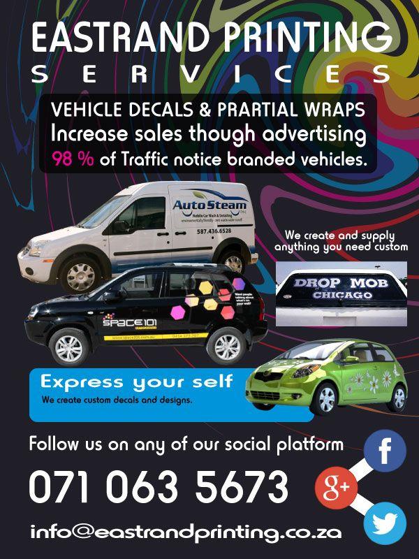 Printing, Contravision, Vehicle Branding, Advertising