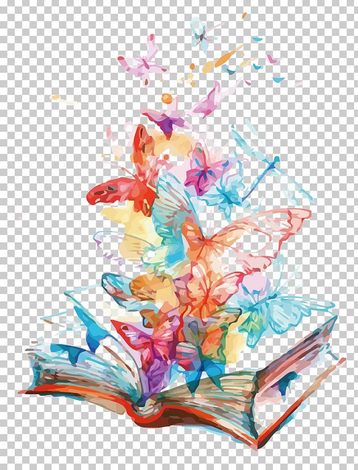 Butterfly Allposters Com Book Png Art Booking Book Vector Comic Book Flying Butterfly Watercolor Butterfly Art Butterfly Illustration