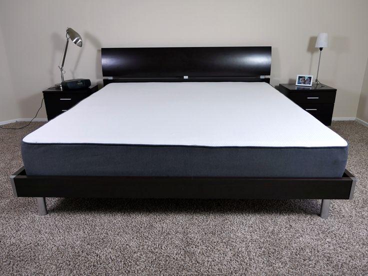 Casper mattress on a King size platform bed