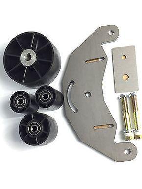 Belt Grinder 2x72 wheel set for knife grinders with steel d-plate