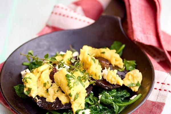 Here's a great weekend breakfast for you mixed and protein types. Swap out the bread and pack your plate with plenty of leafy green goodness, to start your day the right way! Ingredients (serves 2)4 medium portobella mushroomsA littl...