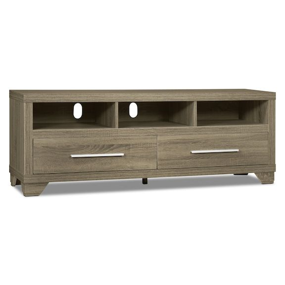 """Entertainment Furniture - Glendale 60"""" TV Stand – Grey"""