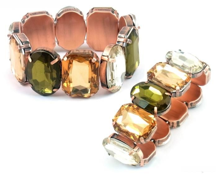 Coloured gem bracelet - www.bibiloconcepts.com.au