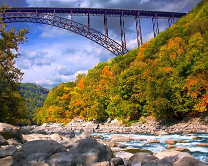 New River Gorge Bridge in WV.