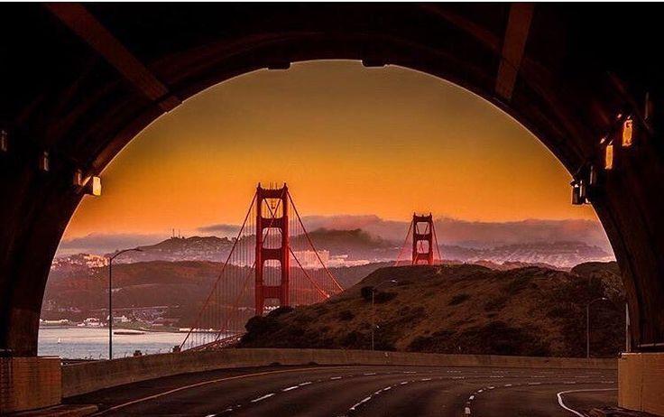 Robin Williams Tunnel (Rainbow Tunnel) by wanderlust.sanfrancisco by San Francisco Feelings