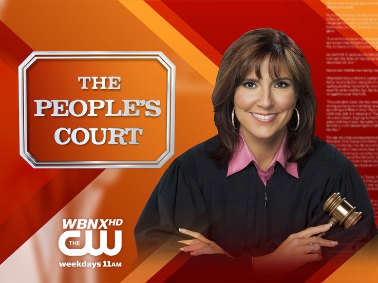 THE PEOPLE'S COURT with Judge Marilyn Milian (First aired in 2001 with Judge Milian)