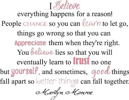 I love Marilyn Monroe quotes! It's my favorite quote!!