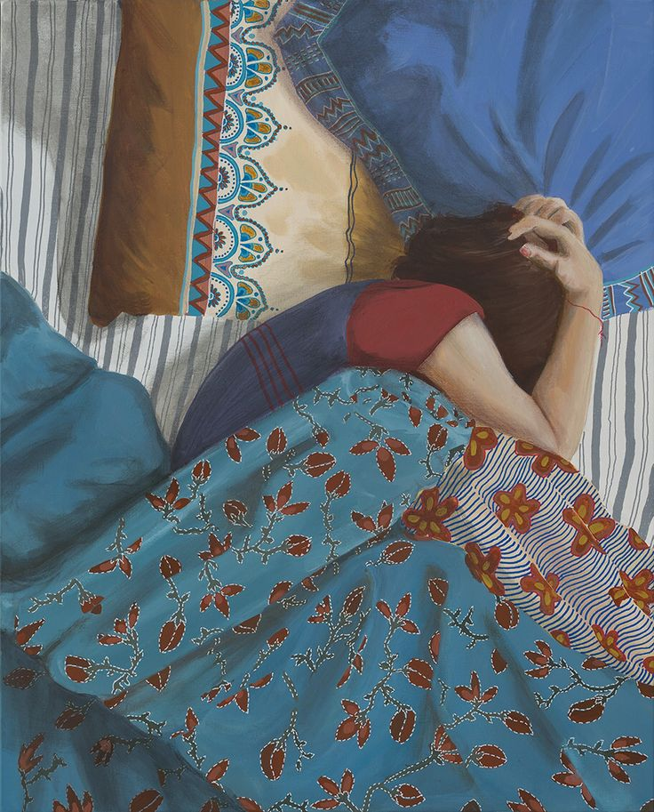 """Comfort Zone""  Art by Tahnee Kelland  @tahnee_kelland"