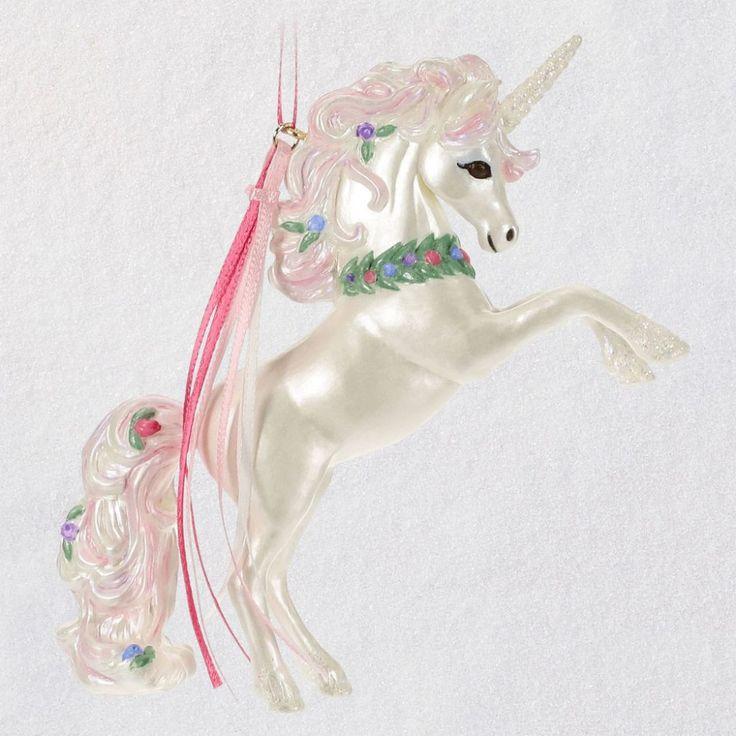 Stunning Unicorn Ornament Keepsake Ornaments Hallmark