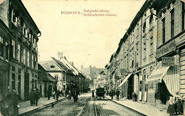 Obchodná ulica 1914