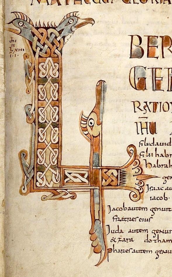 "Medieval Letters: 9th century Carolingian ""LI"" monogram."