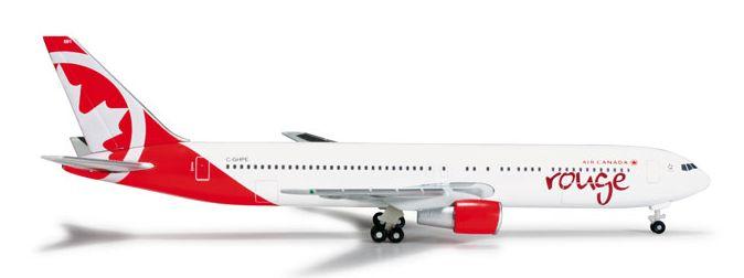 1/500 Herpa Air Canada Rouge Boeing 767-300